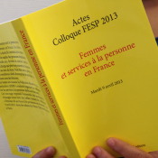 "Actes du colloque de la FESP :  ""Femmes & SAP en France"""